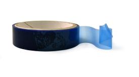 Nastro siliconato scotch per tessuti blu
