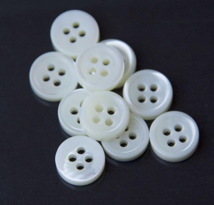 2ec4afcc26 bottone serie giotto bianco - bottoni camicia uomo fine serie ...